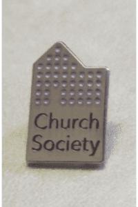 Church Society Lapel Pin Badge